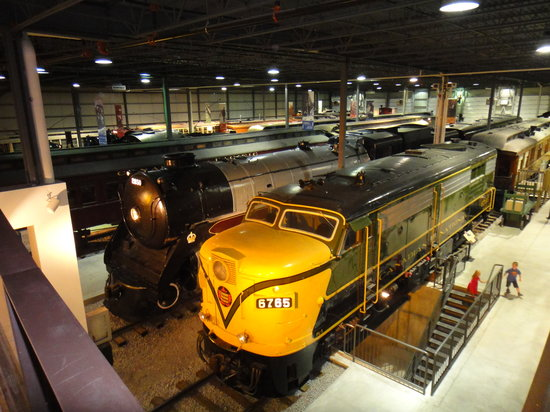 Exporail, the Canadian Railway Museum: Main Exhibition