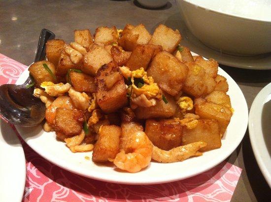 Congee Time : M52 - Fried turnip patties Singapore style - $5.25