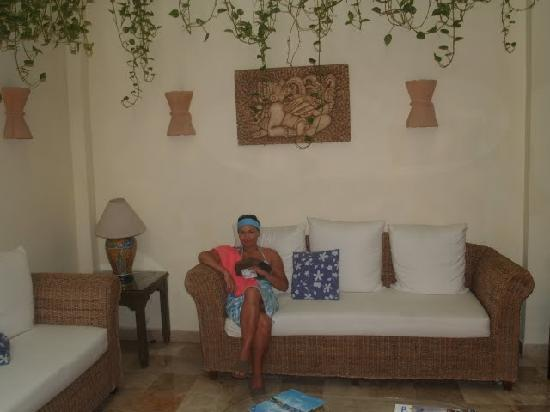 Los Itzaes Hotel : hall