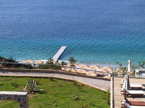 Adrina Resort & Spa: Il deck dall'alto