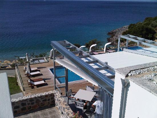 Adrina Resort & Spa: La piscina dall'alto