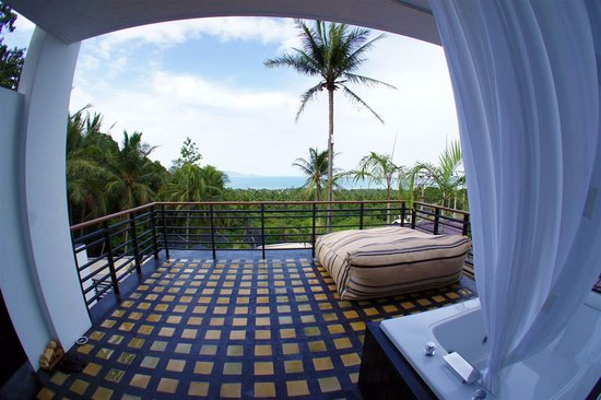 Mantra Samui Resort: Love Jacuzzi Oasis Terrace