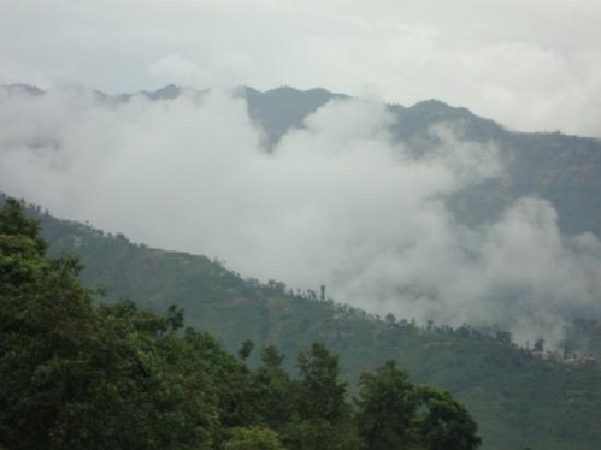 Dhulikhel Lodge Resort : View from the room balcony