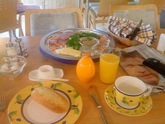 Unser Paradies: mein Frühstück