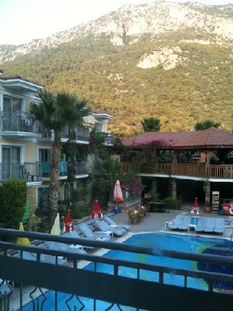 Villa Beldeniz: room 505 view :)