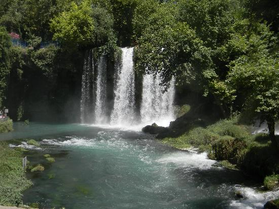 Upper Duden waterfalls