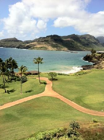 Marriott's Kauai Lagoons - Kalanipu'u: Another view from our balcony