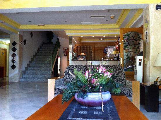 BQ Carmen Playa Hotel: Hotel - Empfangsbereich