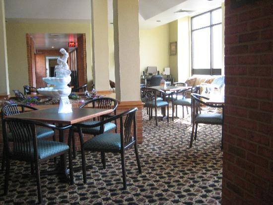 Comfort Inn Bluefield : lobby area