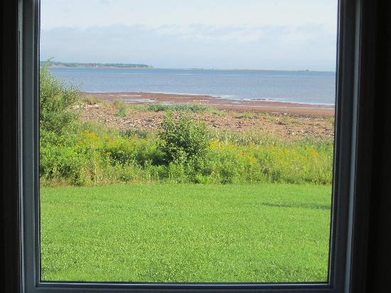 Cambra Sands: View from front window of Castine!