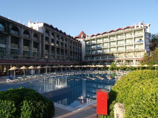 Marti La Perla: hotel and swimmingpool