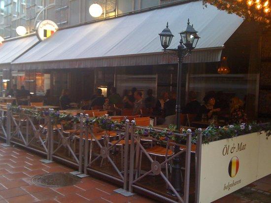 belgisk restaurang stockholm