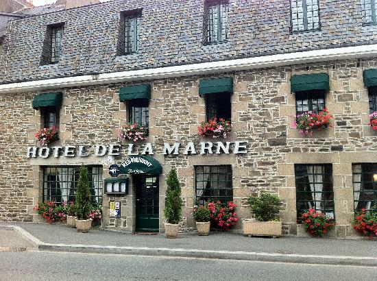 Hotel de la Marne : esterno