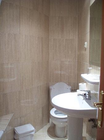 Hotel Castilla Guerrero: salle de bain