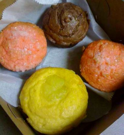 Lite Side Cafe & Bakery: Best Muffins & 1.5 grams of fat!!! Melt in your mouth good!