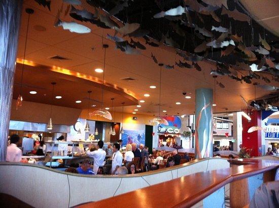 Anthony's Fish Bar: inside