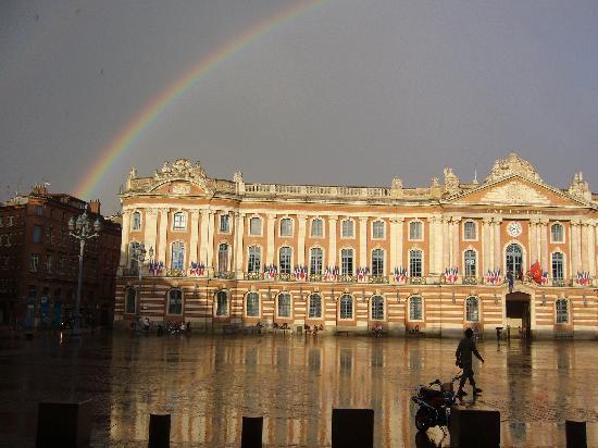 Villa Danieli : Le Capitole après l'orage