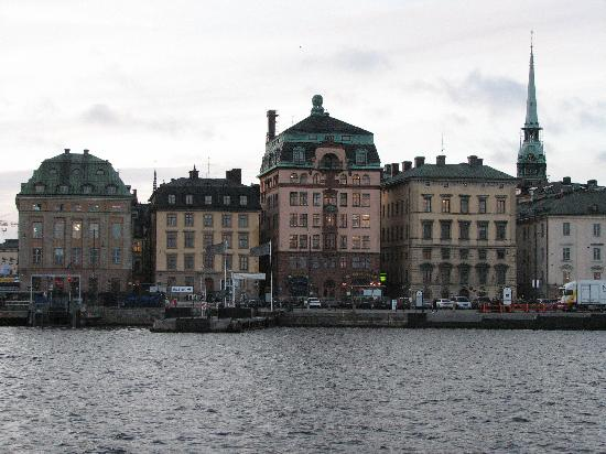 Hotel Hansson: Stockholm dock on trip to Vasa