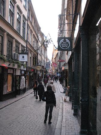 Hotel Hansson: Shopping District in Old Town