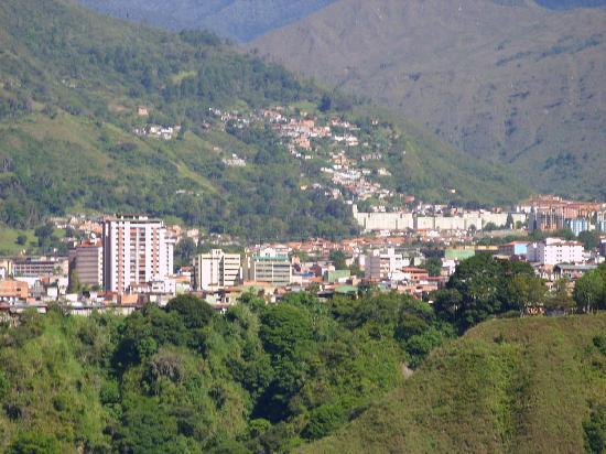 Mérida, Venezuela: Merida vista desede el teleferico una belleza