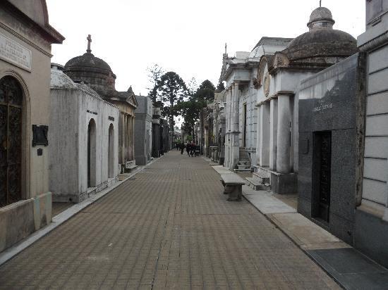 สุสานเรโคเลตา: Cemitério
