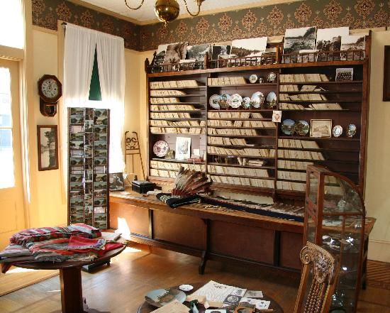 H.H. Bennett Studio: Part of Bennet's original store where he sold his photos and postcards.