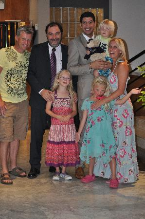 Protur Sa Coma Playa Hotel & Spa: Chey, and our family