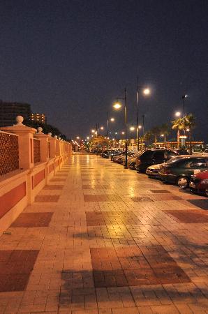 ClubHotel Riu Costa del Sol: Torremolinos at night