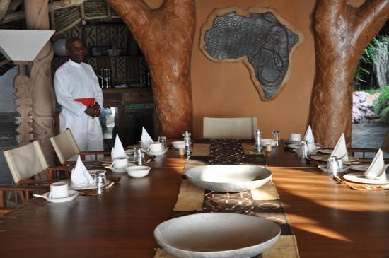 Alfajiri Villas: ogni sera una tavola arredata con gusto