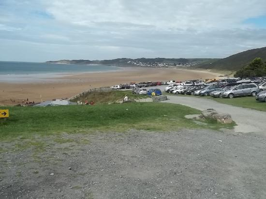 Middle Lee Farm: Putsborough Beach which joins into Woolacombe Beach