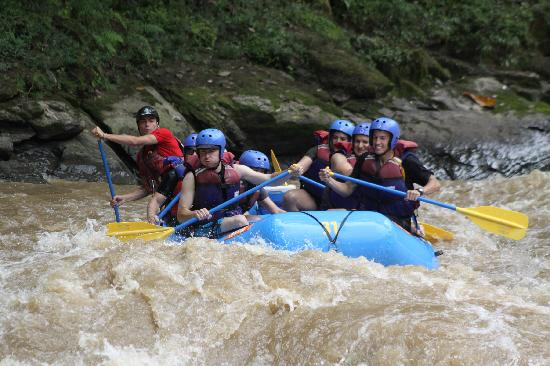 Cartago, Costa Rica: On the Pacuare River!!!