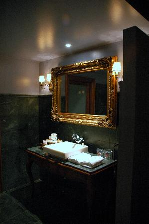 Hotel Hospederia de los Parajes: lababo