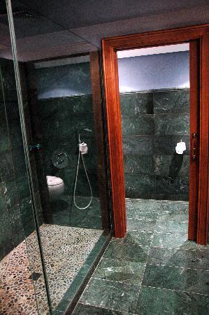 Hotel Hospederia de los Parajes: ducha amplia