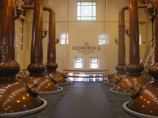 Glenmorangie Distillery: Inside the distillery