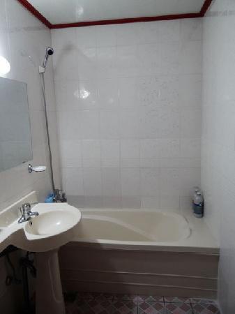 Motel Equus: bathroom