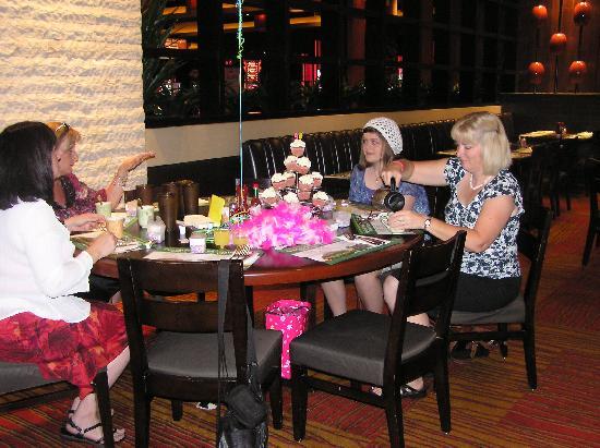 Aliante Casino + Hotel + Spa: Table for 8 for 90th birthday