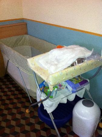 Hotel Florenz: angolo bebè