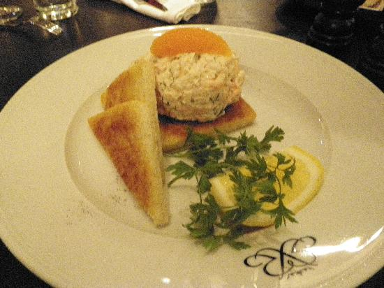 Riche: Toast Skagen - diabolically delicious shrimp dish, pricey but worth it to try at least once!