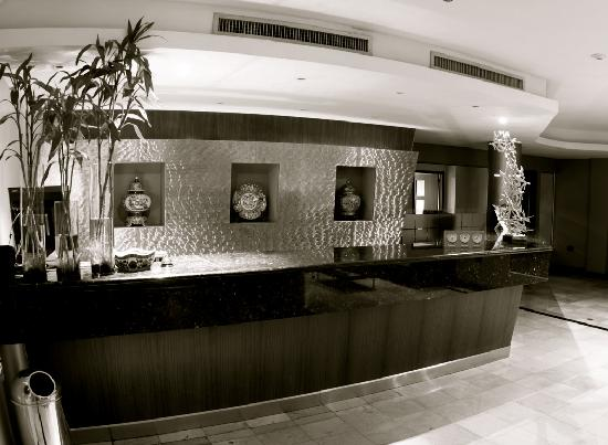 Hotel Lun Fun Manta: LOBBY