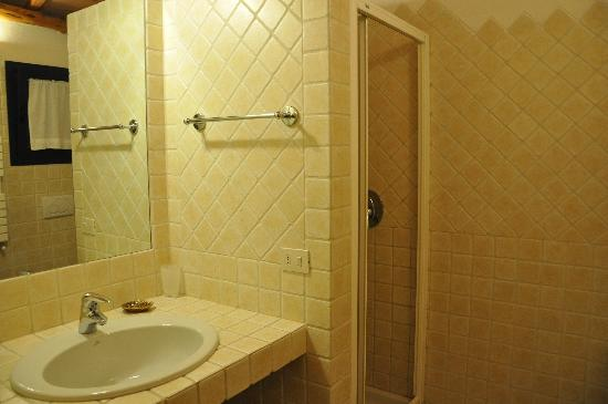 Lu Pastruccialeddu: Bathroom (standard room (1st floor))