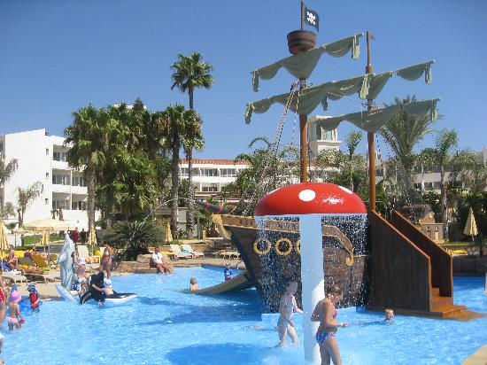 Olympic Lagoon Resort: The pirate's ship!