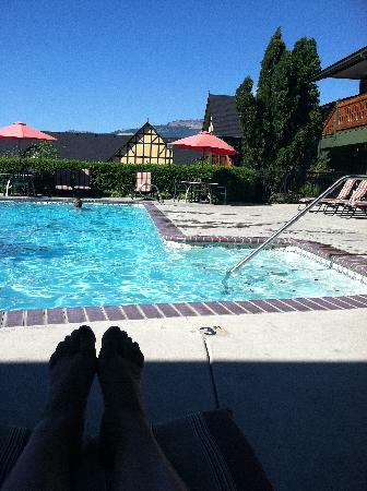 Best Western Windsor Inn: Pool time!