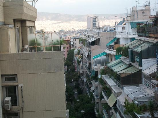 Athens Way: view from the balcony