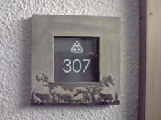 Arcadien Hotel & Spa: chambre 307