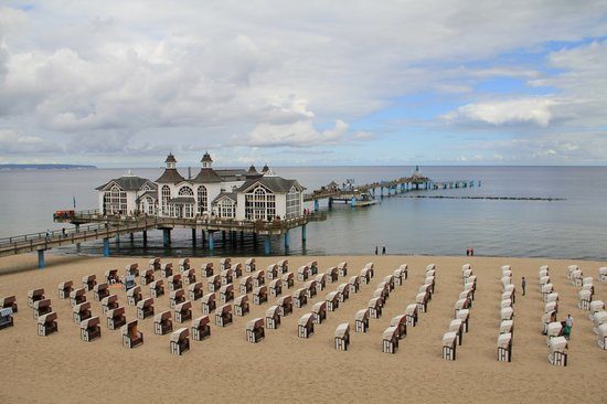 Mecklenburg-West Pomerania, Germany: Sillin Baltic Sea (Oest See) Beach