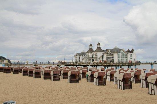 Mecklenburg-West Pomerania, Germany: Sillin Baltic Sea Beach Promenade