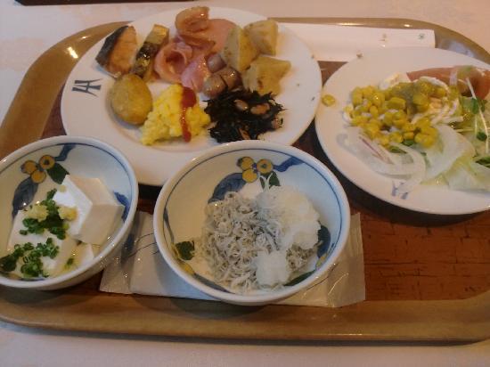 Inasayama Kanko Hotel: 朝食