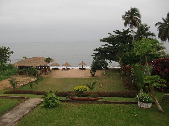 Hotel Costa Blanca: Vue de la chambre