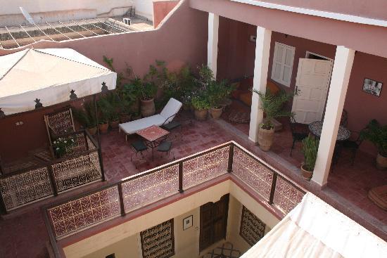 Marhbabikoum : Depuis depuis la terrasse