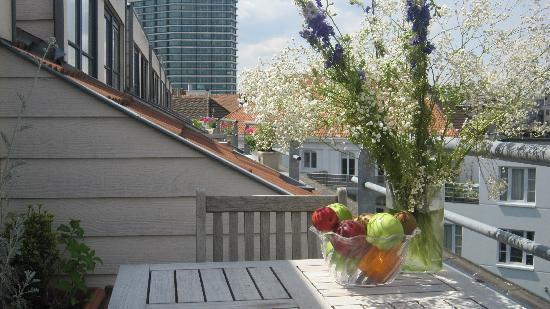 A-XL Flathotel: balcon apartement 4-eme etage